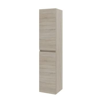 Bruynzeel Monta kolomkast 2 deuren grijs eiken 160cm