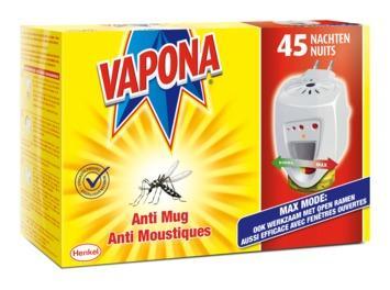 Vapona anti-mug apparaat booster