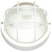Hublot rond en synthétique Handson max 60 W,aux projections d'eau blanc