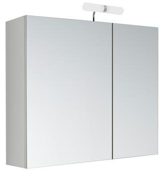Allibert Kle'O spiegelkast 2 deuren met verlichting