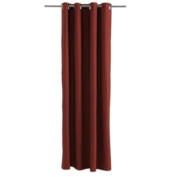 GAMMA kant en klaar gordijn 2800 x 1400mm lus 721 baskisch rood ...