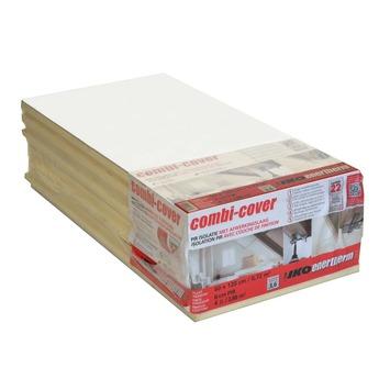 Panneau d'isolation Iko Enertherm Combi-Cover 10 cm 2,88 m² R=4,5 4 pièces