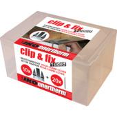 Iko Enertherm isolatie bevestigingsset Clip&Fix randklem en schroef