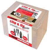 Iko Enertherm isolatie bevestigingsset Clip&Fix tussenklem en schroef