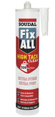 Fix All high tack Soudal transparent 290 ml