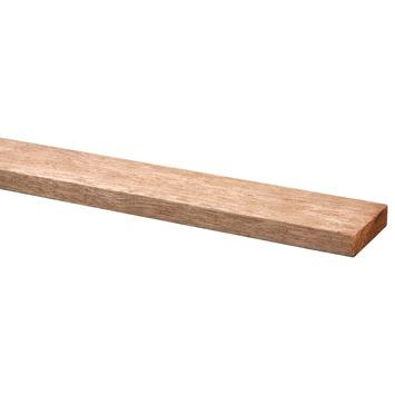 Lat hardhout geschaafd fsc 12x55 mm 210 cm