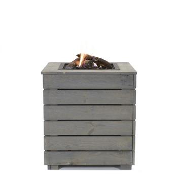 Chauffage de terrasse Livin' Flame Blaze 60x60x65 cm gris