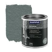 Laque pour métaux GAMMA effet martelé gris foncé 750 ml