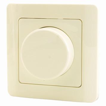 Profile draaiknopdimmer voor gloei- en halogeenlampen 20-300 W