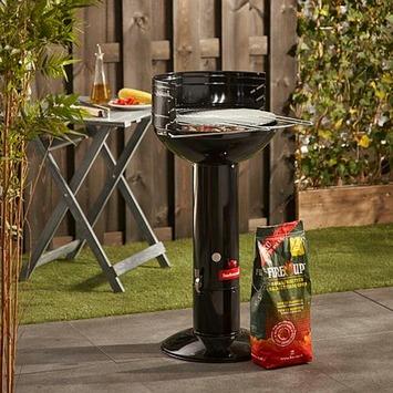 Barbecook houtskoolbarbecue Optima zwart
