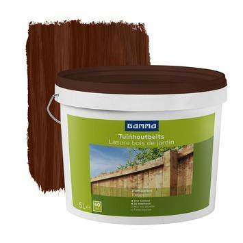 Lasure bois de jardin GAMMA brun transparent 5 L | Vernis, huiles ...