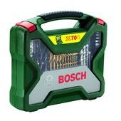 Jeu d'accessoires X-line Bosch 70 pièces