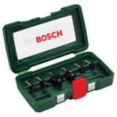 Bosch frezenset hout HM Ø8 mm 6-delig