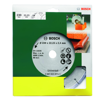 Bosch diamantschijf 230 mm