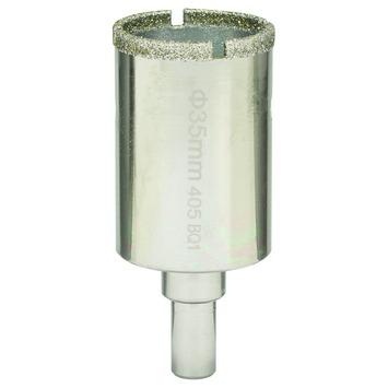 Scie Trepan Diamantee Bosch O 35 Mm Ceramique Forets Accessoires De Percage Gamma Be