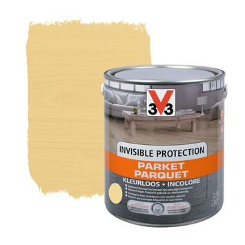 V33 invisible protection mat kleurloos 2,5 L