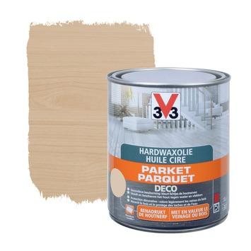 Huile parquet hard wax deco V33 blanc mat 2,5 L | Vernis, huiles ...