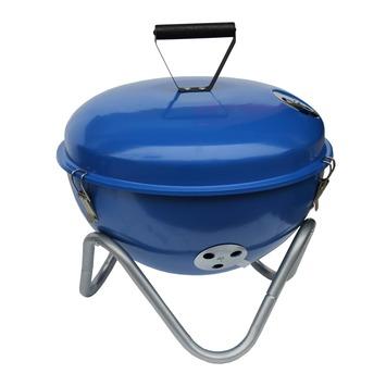 Barbecue à charbon de bois bleu