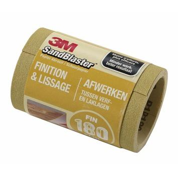 3M SandBlaster schuurpapier op rol P180 goud 2,5 m