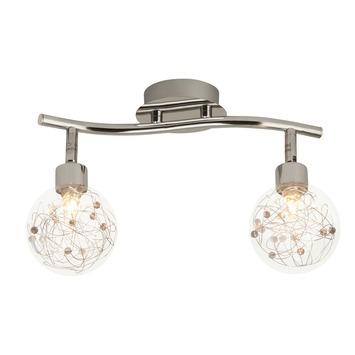 Brilliant duobalk Joya exclusief lamp 2x G9 max. 33W chroom