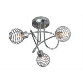 Brilliant trio spiraal Charlie exlusief lamp G9 3x33W chroom
