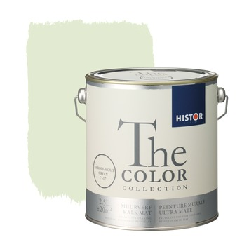 Histor The Color Collection peinture murale ultra mate throughout green 2,5 litres
