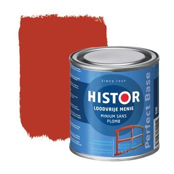 Histor Perfect Base loodvrije menie roodbruin 250 ml