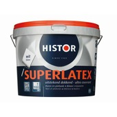 Histor Super latex wit 10 liter