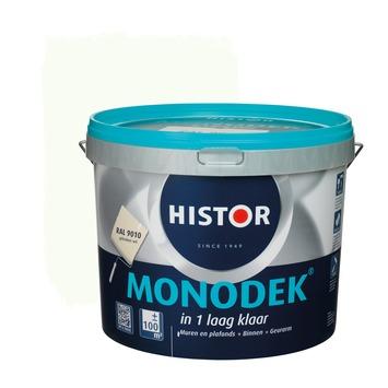 Histor monodek muur- en plafondverf 10 L RAL 9010
