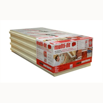 Iko Enertherm isolatieplaat Multi-Fit 8 cm 3,6 m² R=3,6 5 stuks