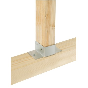 Support poutre solide GAMMA 63x175 mm zingué