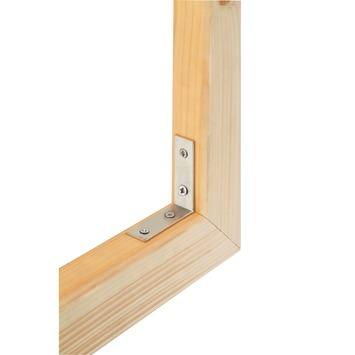 GAMMA stoelhoeken 60x18 mm inox