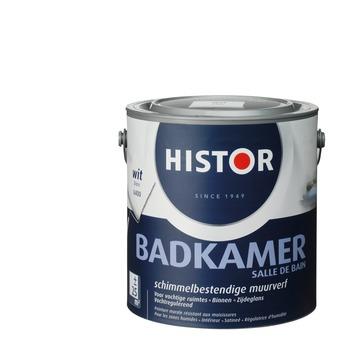 Histor muurverf badkamer wit 2,5 L | Muurverf & plafondverf | GAMMA.be