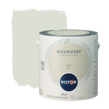 Histor Perfect Finish muurverf wollig mat 2,5 liter