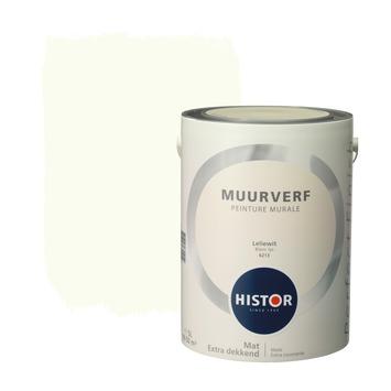 Histor Perfect Finish peinture murale blanc lys mat 5 litres
