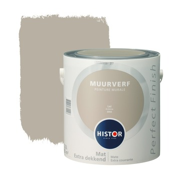 Histor Perfect Finish muurverf lei mat 2,5 liter