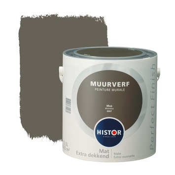 Histor Perfect Finish muurverf mus mat 2,5 liter