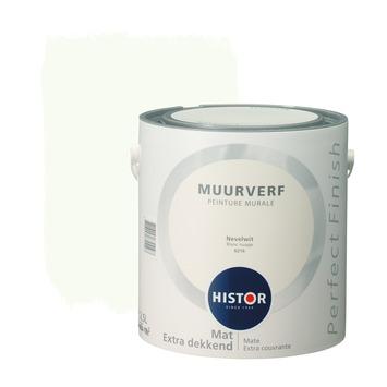 Histor Perfect Finish muurverf nevelwit mat 2,5 liter