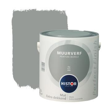 Histor Perfect Finish peinture murale étain mat 2,5 litres
