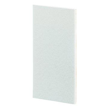 GAMMA meubelglijder zelfklevend 100x200 mm vilt wit 2 stuks