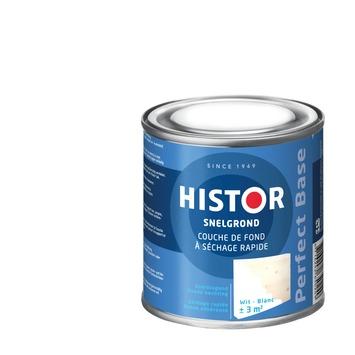 Histor Perfect Base grondverf sneldrogend wit 250 ml