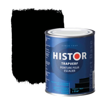 Histor Perfect Base trapverf zwart 750 ml