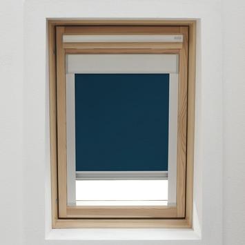 Store Enrouleur Pour Fenêtre De Toit Avec Cassette Gamma 7003 Bleu