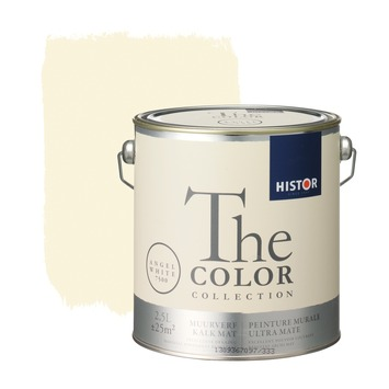 Histor The Color Collection peinture murale ultra mate angel white 2,5 litres