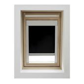 GAMMA dakraamrolgordijn met cassette 7005 zwart 55x78 cm