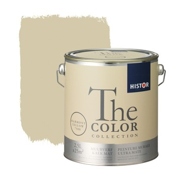 Histor The Color Collection muurverf harmony yellow 2,5 L