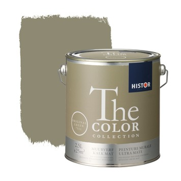 Histor The Color Collection peinture murale ultra mate  original green 2,5 litres
