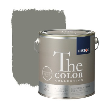 Histor The Color Collection peinture murale ultra mate boulevard brown 2,5 litres