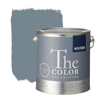Histor The Color Collection peinture murale ultra mate expression blue 2,5 litres