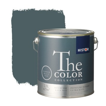 Histor The Color Collection peinture murale ultra mate yippee blue 2,5 litres
